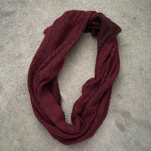 Dynamite | thick wooly infinity scarf and cover up